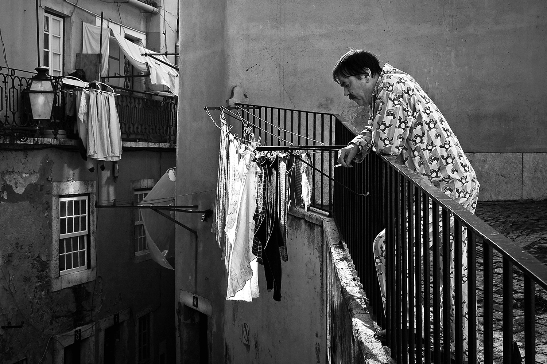 <h5>varanda para fumadores | smokers balcony, Lisboa 2010</h5>