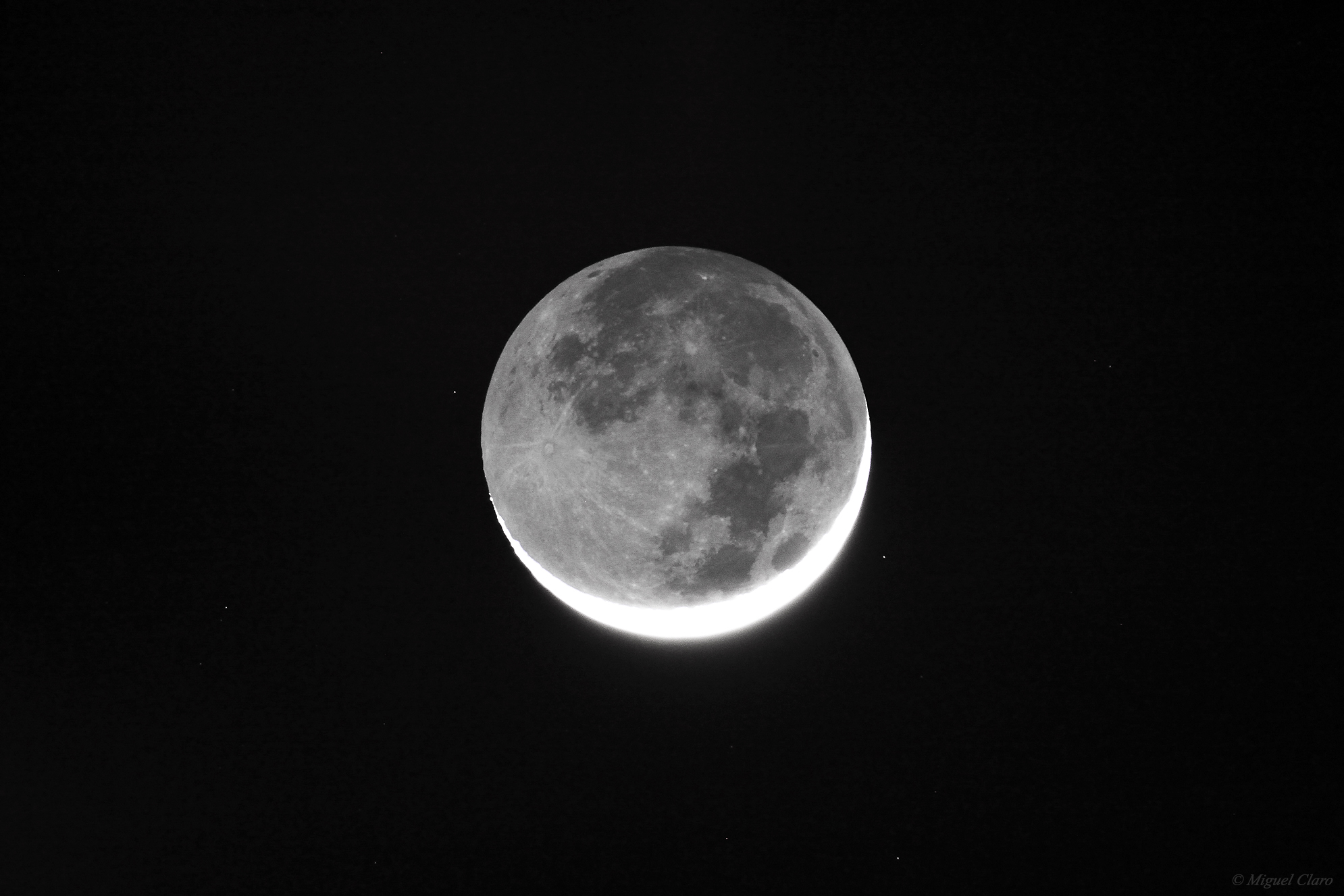 <h5>Moon Earthshine – The Leonardo Da Vinci phenomenon</h5>