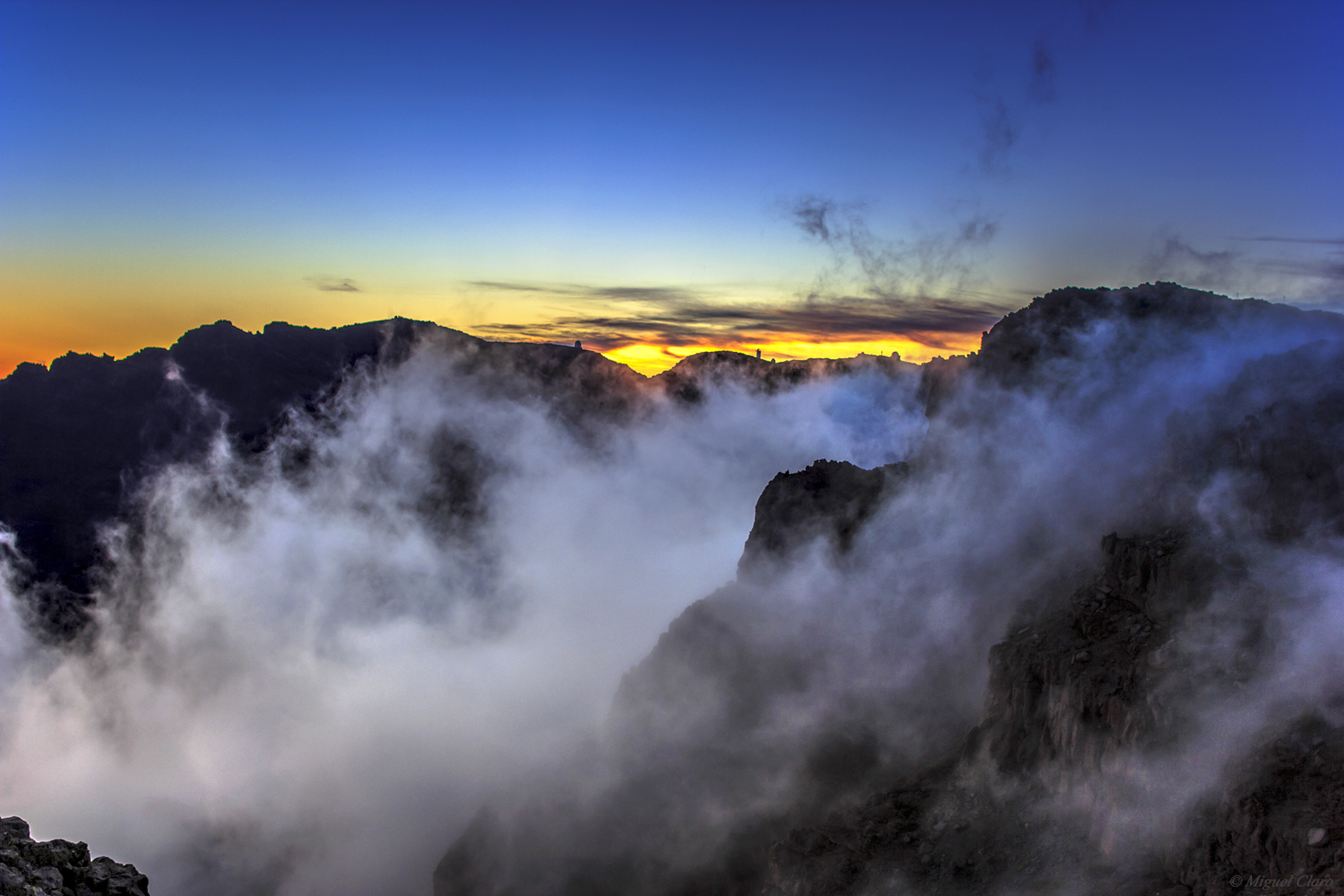 <h5>Clouds and Fog in Caldera de Taburiente</h5>