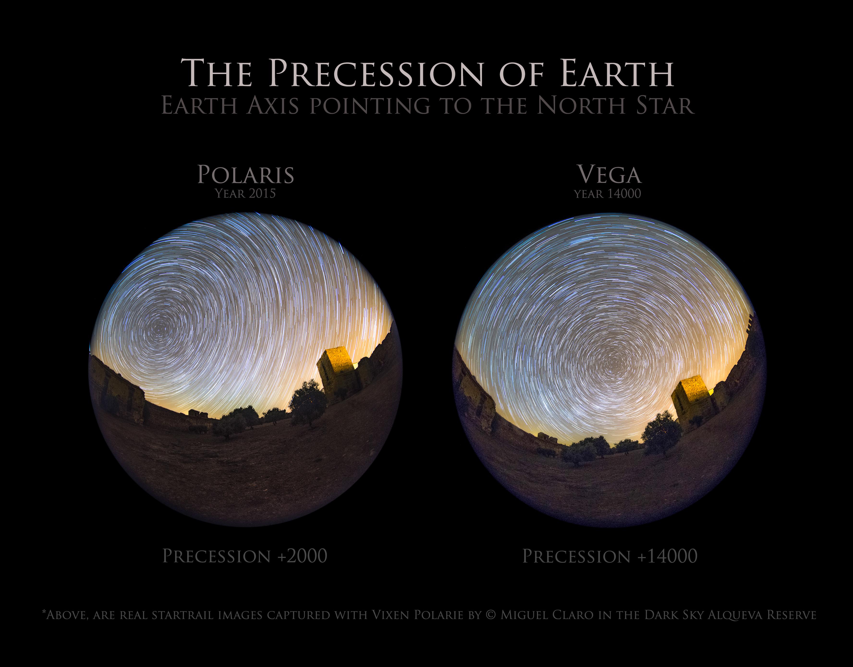 <h5>The Precession of Earth – New Photo Technique showing a Vega Polar Startrail</h5>