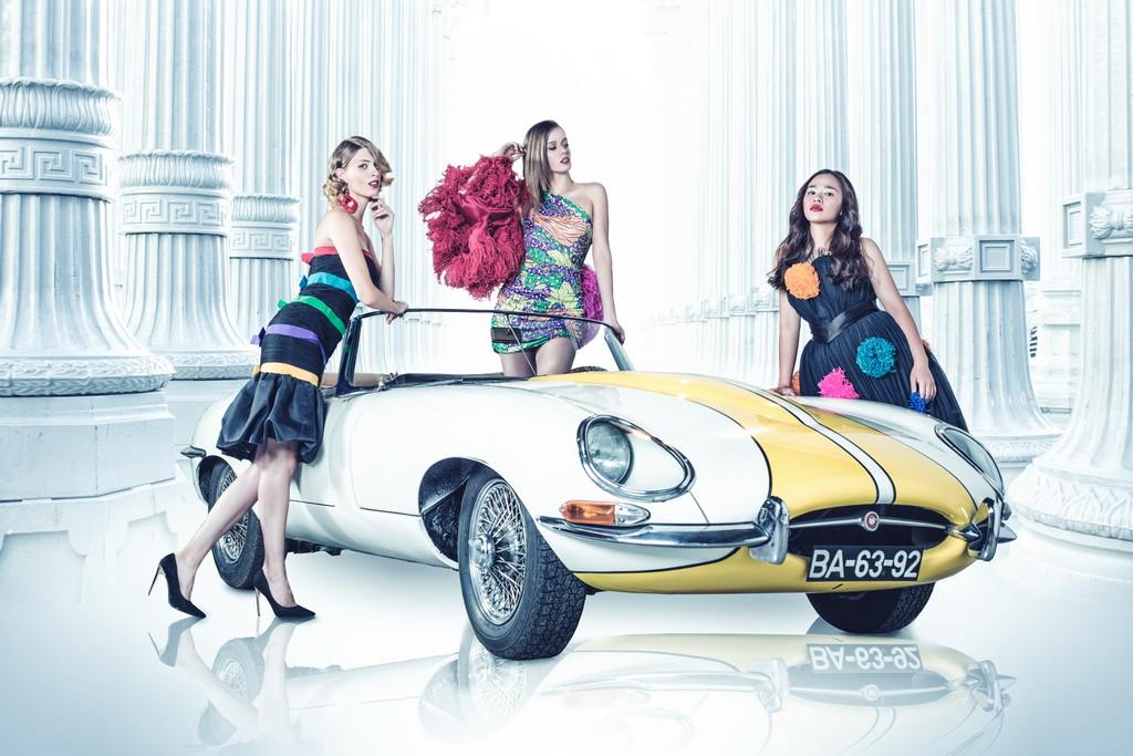 <h5>YSL and Jaguar E TYPE</h5><p>YSL and our beloved Jaguar E TYPE, the most beautiful car of all times according to Enzo Ferrari, so are some Yves Saint Laurent dresses.</p>