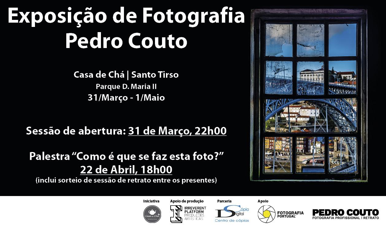 Cartaz Exposição Casa de Chá de Santo Tirso 213x125